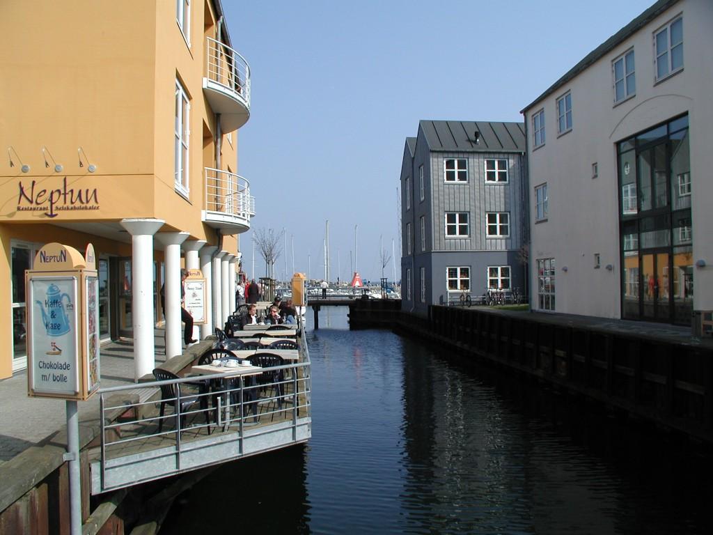 Bostäder i hamnläge i Århus