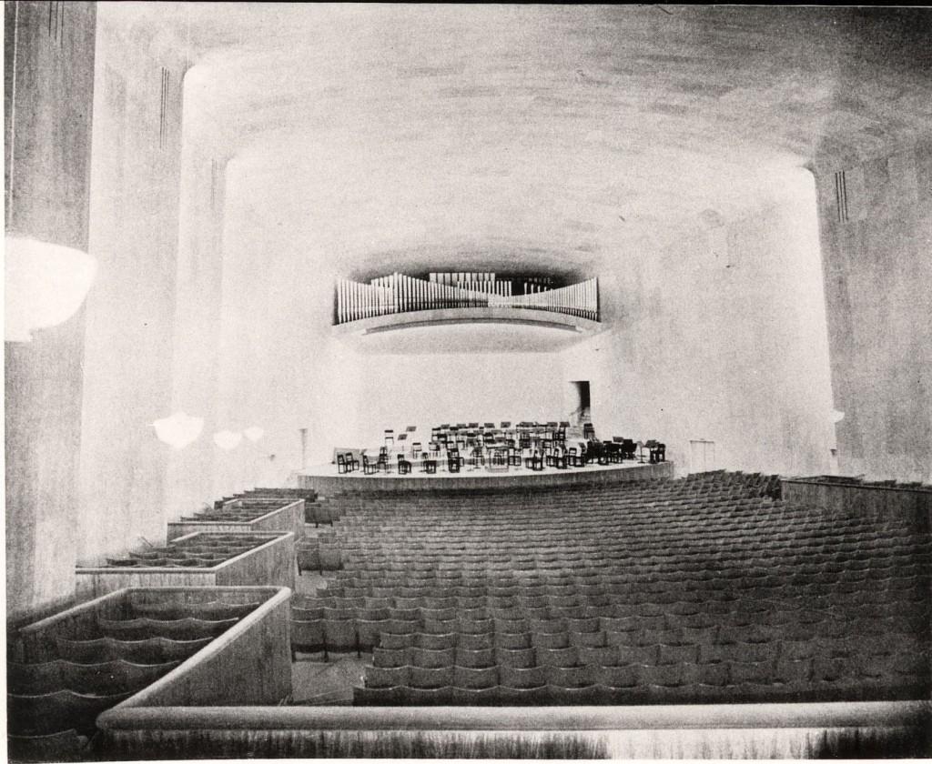 Stora konsertsalen i Göteborgs konserthus från 1935