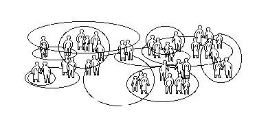 De öppna gemenskapernas och den konkreta allmänhetens tankefigur
