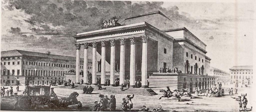 Claud-Nicolas Ledoux' teaterprojekt i Marseilles från 1781